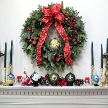 Stunning Decorating Wreath Contemporary - Decorating Interior ...